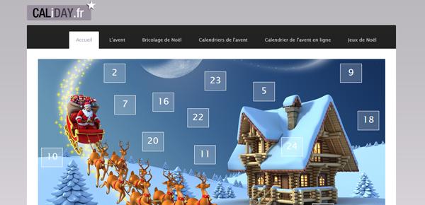 Le site du calendrier de l 39 avent - Couronne de l avent a fabriquer ...