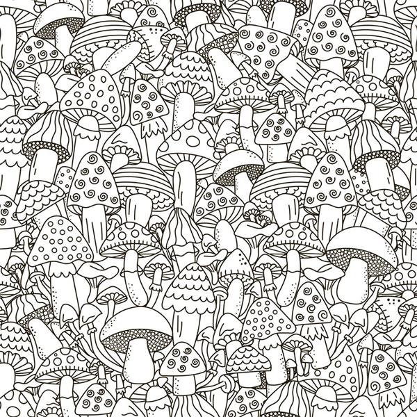 Coloriages de no l - Dessin de champignons a imprimer ...
