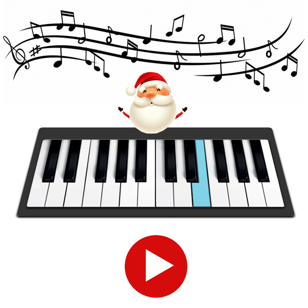 Tutoriel Piano Facile Petit Papa Noël