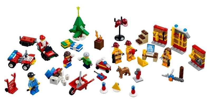 Calendrier Avent Lego City.Calendrier De L Avent Lego