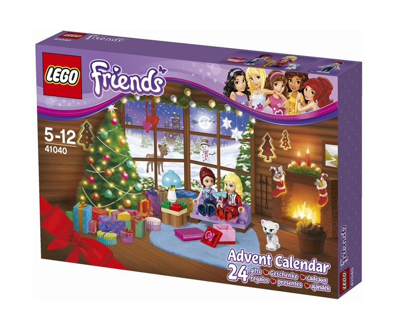 calendrier de l 39 avent lego friends 41040. Black Bedroom Furniture Sets. Home Design Ideas