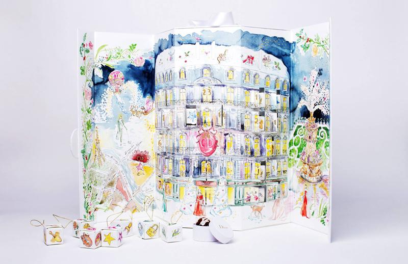 Calendrier De Lavant Dior.Calendrier De L Avent Dior 2014