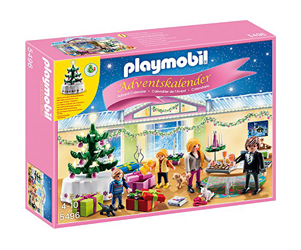 calendrier de l 39 avent playmobil fille avec arbre lumineux. Black Bedroom Furniture Sets. Home Design Ideas