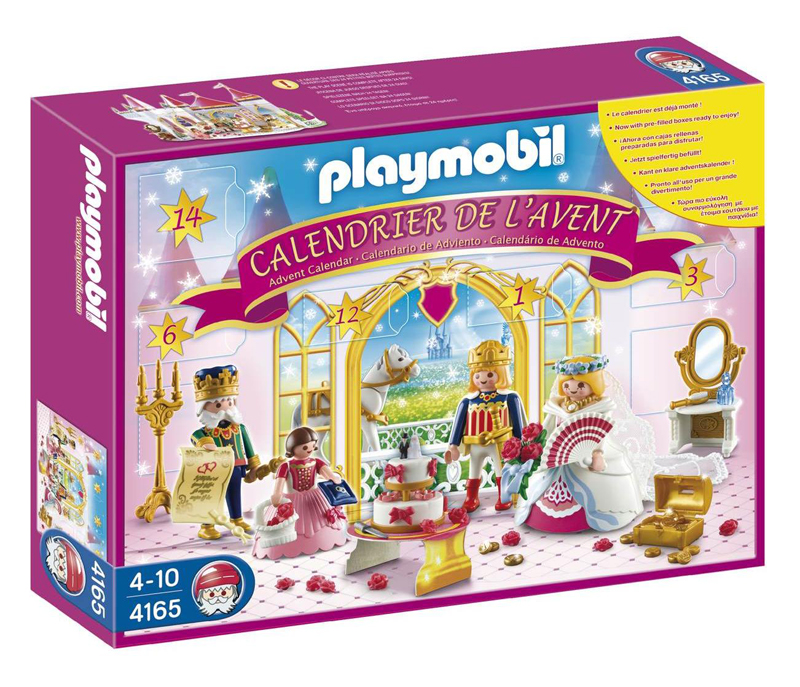 calendrier de l 39 avent playmobil mariage de princesse. Black Bedroom Furniture Sets. Home Design Ideas