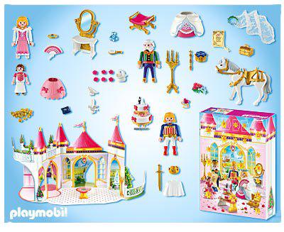 calendrier de l 39 avent playmobil mariage de princesse. Black Bedroom Furniture Sets. Home Design Ideas