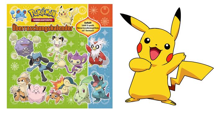 Calendrier De Lavent Pokemon 2020.Calendrier De L Avent Pokemon